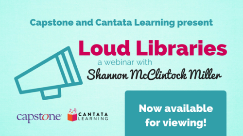 Loud Libraries website ad-4
