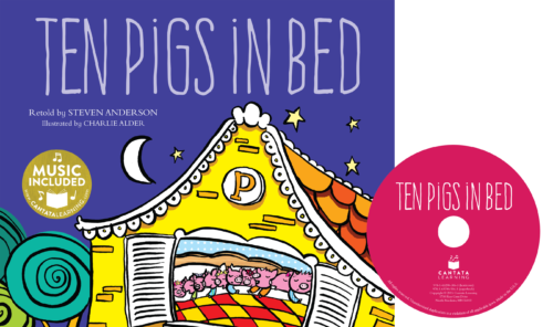Ten Pigs in Bed