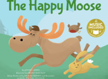 The Happy Moose book cover